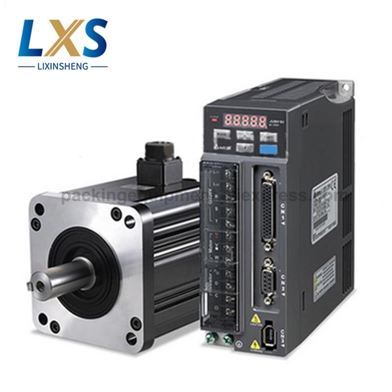 100% Original Delta servoaccionamiento ASD-B2-1021-B con 1KW 220V Servo Motor ECMA-E21310RS