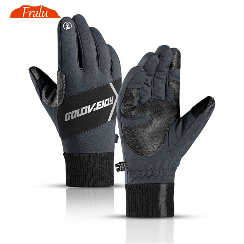 low temperature resistant gloves liquid nitrogen lng natural gas ice storage antifreeze thick warm cold gloves for adult Winter Gloves For Men Anti-Slip Waterproof Touch Screen Gloves Skiing Cycling Cold-proof Thick Warm Mens Gloves Night Reflective