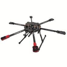 Tarot 680Pro 3K pur plein pliage en Fiber de carbone Hexacopter 680mm FPV cadre davion avec patin datterrissage TL68P00 f/ RC photographie