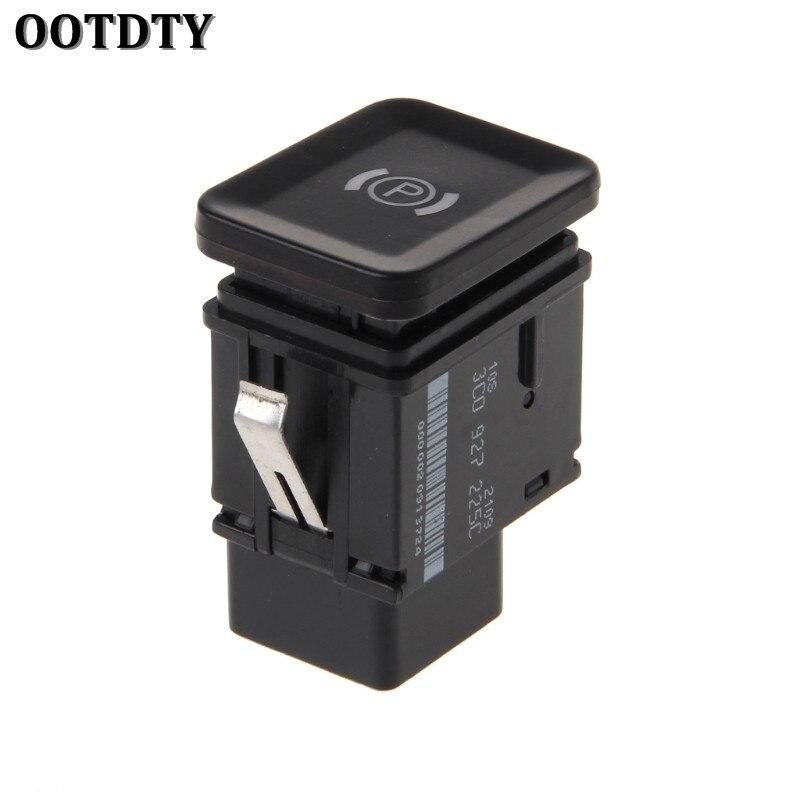 OOTDTY Electronic Brake Button Handbrake Parking Switch For VW Passat B6 C6 CC G1CG