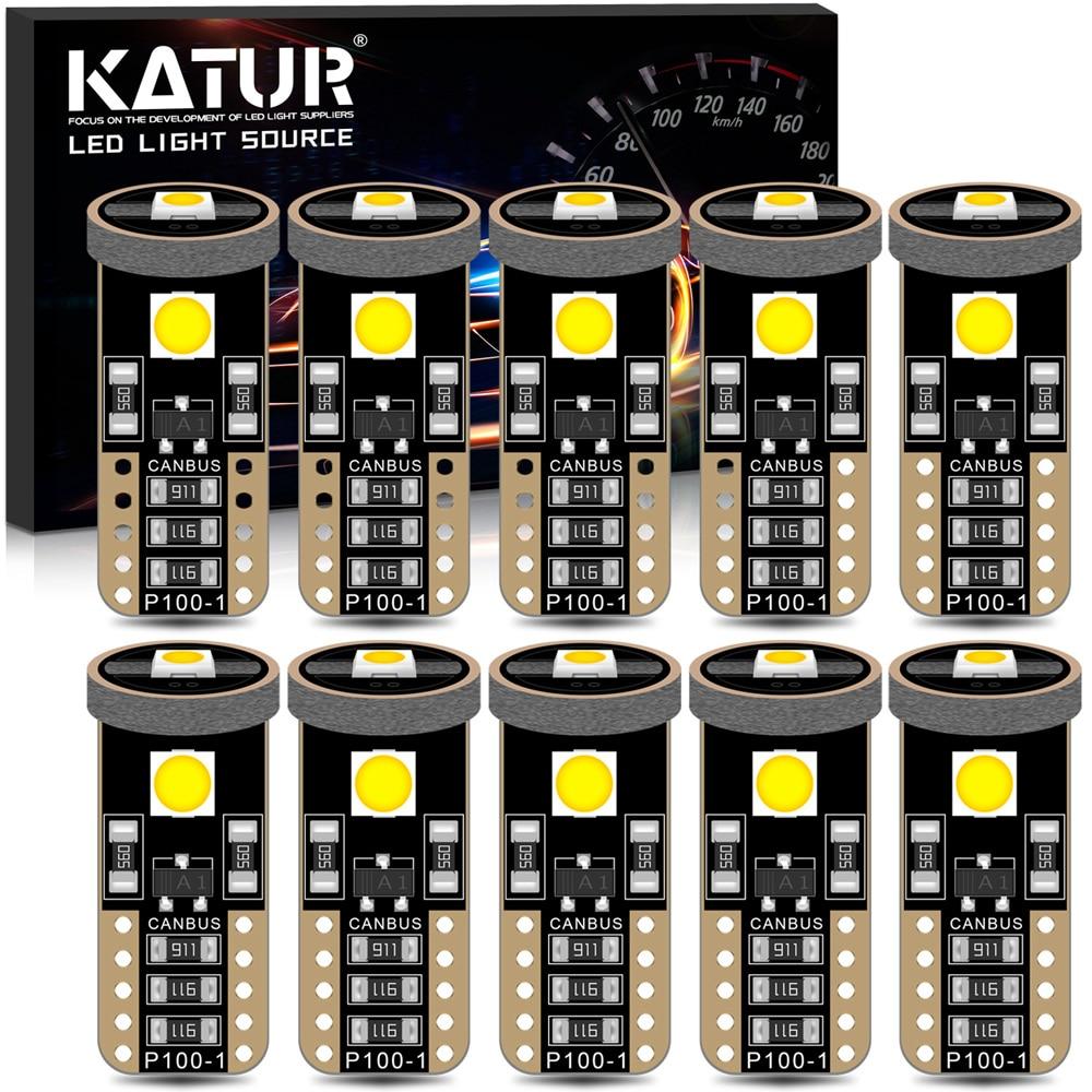 10 stücke Fehler Kostenlose Canbus T10 Led-lampen W5W 168 194 LED Für Mini Cooper F54 F55 F56 R52 R53 r55 R56 Parkplatz Licht 6000K Weiß 12V