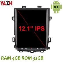 YAZH Android 8.1 4GB Headunit multimédia pour Toyota Alphard/Vellfire 2007 2008 2009 2010 20112012 2013 2014 12.1