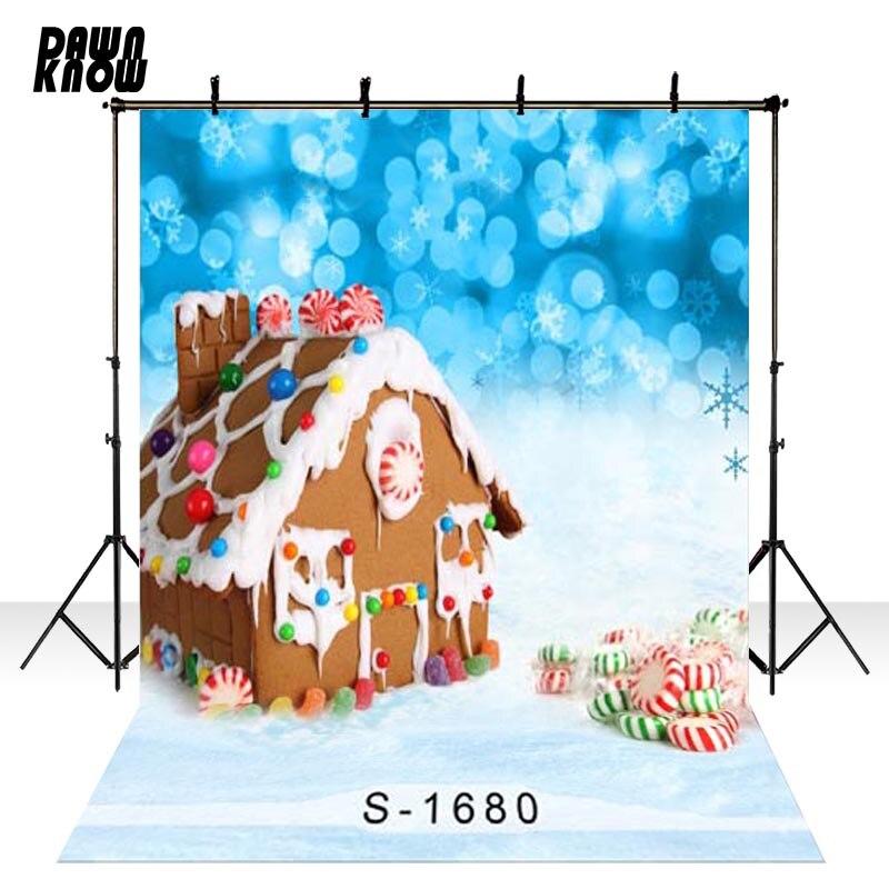 Fondo de fotografía de vinilo con efecto reflejo para Baby Chocolate House Sweet Photo Shoot telón de fondo para estudio fotográfico de boda S1680