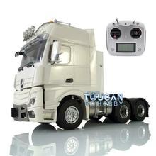 Métal 1/14 LESU RC 6*6 châssis équipement support Radio Hercul Arco cabine camion