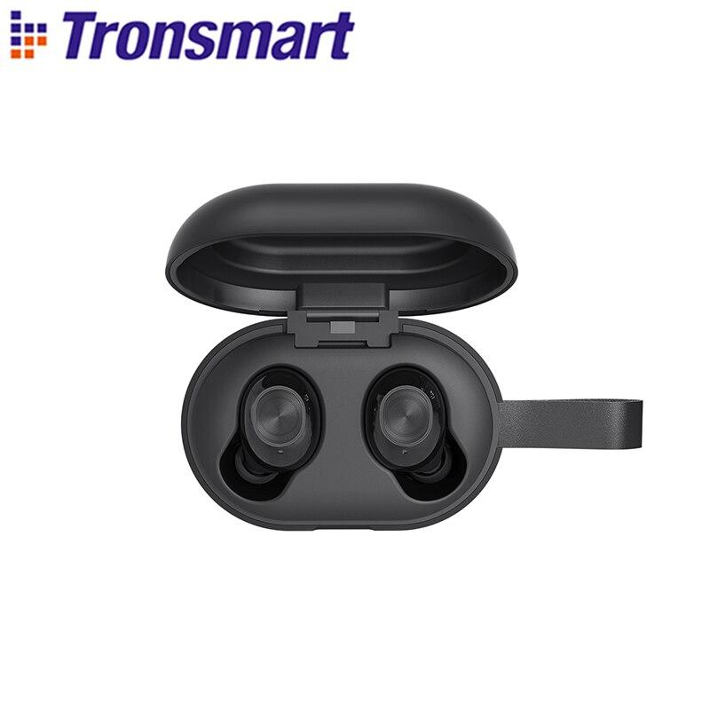 Беспроводные наушники Tronsmart Spunky Beat, Bluetooth TWS наушники APTX с чипом QualcommChip, CVC 8,0, сенсорное управление
