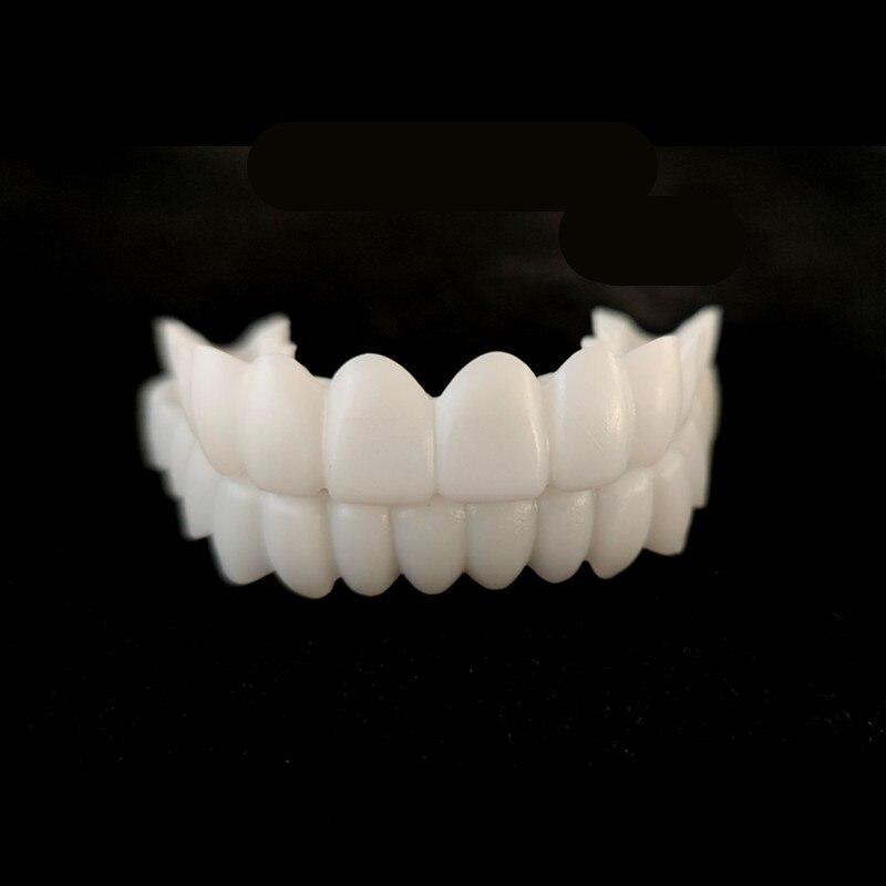 Новая верхняя и нижняя накладная зубная Накладка для зубов, виниры для идеальной улыбки, удобные гибкие зубные протезы, отбеливающие зубные скобы