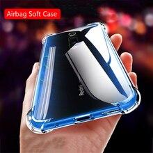 For Xiaomi Mi 9T Pro Redmi K20 Pro Mi 9 Note 7 Pro 7S Y3 Phone Case Airbag Transparent Soft TPU Silicone Ring Holder Case Cover