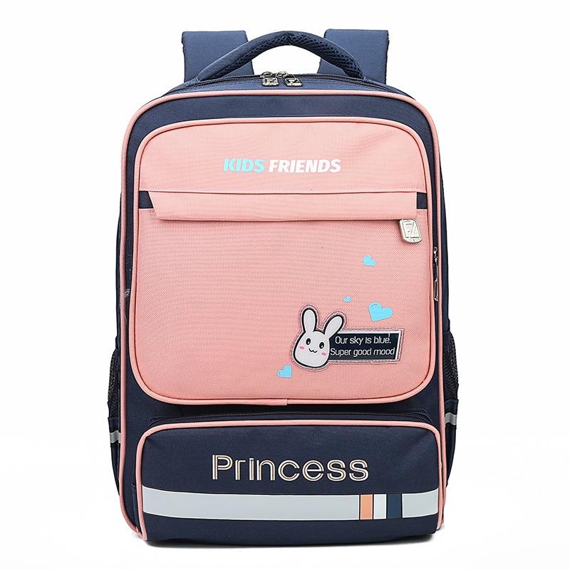 Weysfor Boy Girl School Bags Child Cartoon Printing Waterproof Oxford Backpack Kindergarten Student Cute Children's Schoolbag