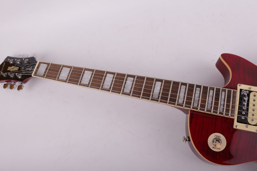 good quality electric guitar red maple free shipping enlarge