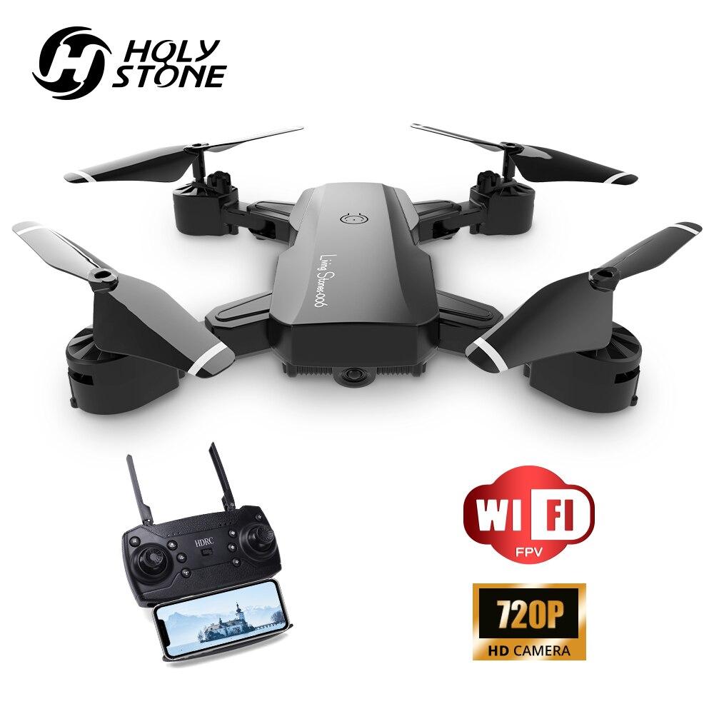 Holy Stone YC006, Dron RC plegable 720P con cámara HD, WIFI, FPV, cuadricóptero profesional RC, Dron cuadricóptero