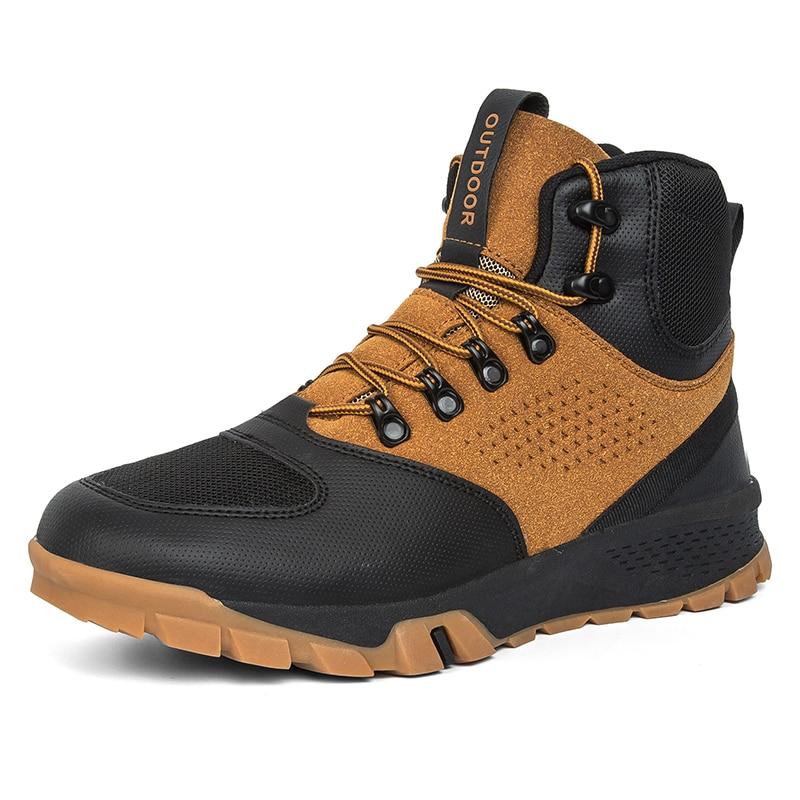 Men Hiking Shoes Professional Outdoor Climbing Camping Men Boots Mountain Trekking Sneakers Men's Tactical Hunting Sport Shoes