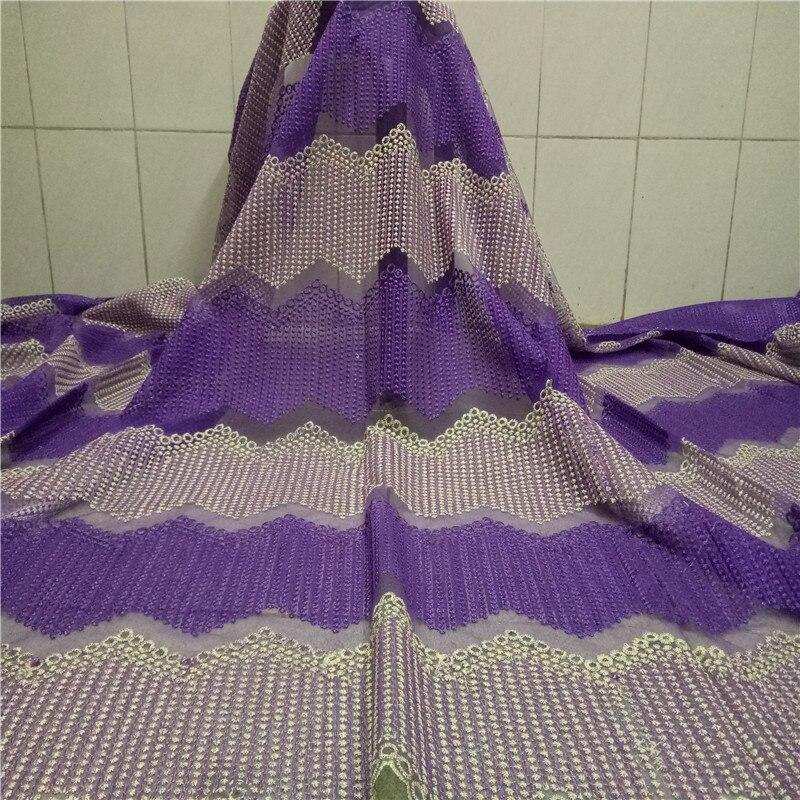 Tela de encaje nigeriano africano 2020, encajes franceses de alta calidad, piedras laminadas para boda, bordado de cordón, tela de encaje de tul 66-360