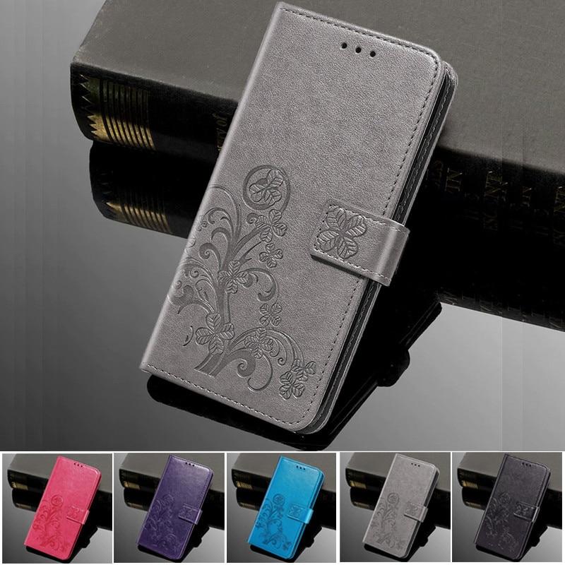 Funda abatible de silicona para teléfono de flores para Meizu Pro 6 7 Plus 6S M6 Note Mini M6S S6 M6T M3E E2 E3 Fundas billetera cubierta de cuero