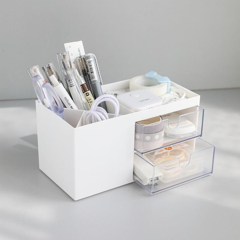 2021 многофункциональный держатель для ручек Органайзер креативная модная Милая Студенческая настольная коробка для хранения канцелярских ...