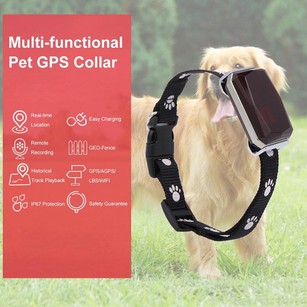 جديد وصول IP67 مقاوم للماء طوق الحيوانات الأليفة GSM AGPS واي فاي LBS ضوء صغير لتحديد المواقع المقتفي للحيوانات الأليفة الكلاب القطط الماشية الأغنا...