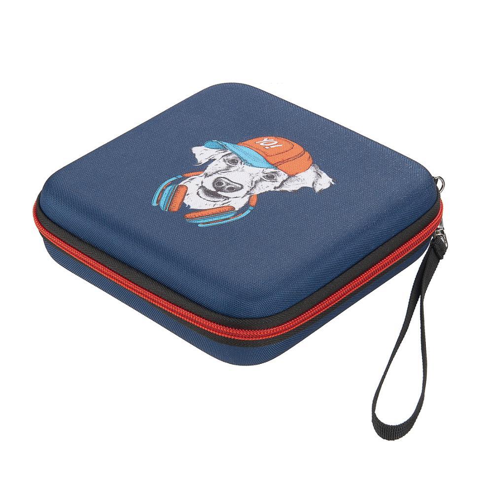 Shockproof Hard Case Carrying Travel Bag for Portable DVD Player/hard disk/SATA disk/mini PC tablet/Electronic case