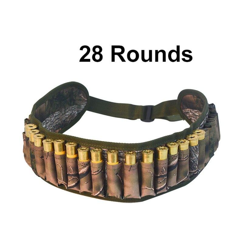 Details about  /Tactical Shell Bandolier Belt 12//20 Gauge Ammo Holder 28 Rounds Gun Bullet Belt