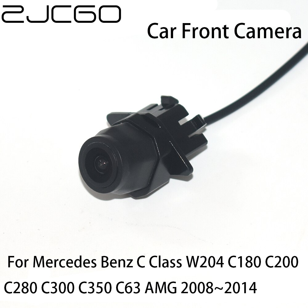 for mercedes benz c180 c200 c280 c300 c350 c63 amg projection lamp prevent rear collision warning light haze rain fog snow lamps ZJCGO CCD HD Car Front View Parking LOGO Camera Positive Image for Mercedes Benz C Class W204 C180 C200 C280 C300 C350 C63 AMG