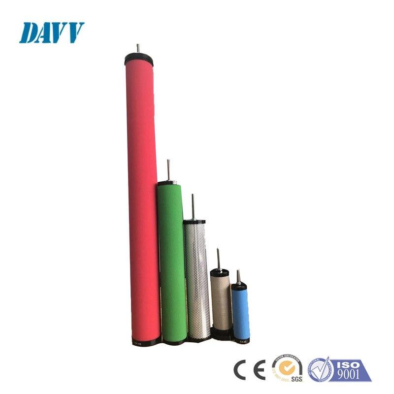1 Nm3/دقيقة ضواغط هواء لولبية قطع غيار الدقة فلتر الهواء