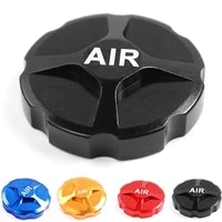 lightweight bike front fork cap mtb road bike bicycle valve cover aluminum alloy headset cover bicycle accessories cycling parts