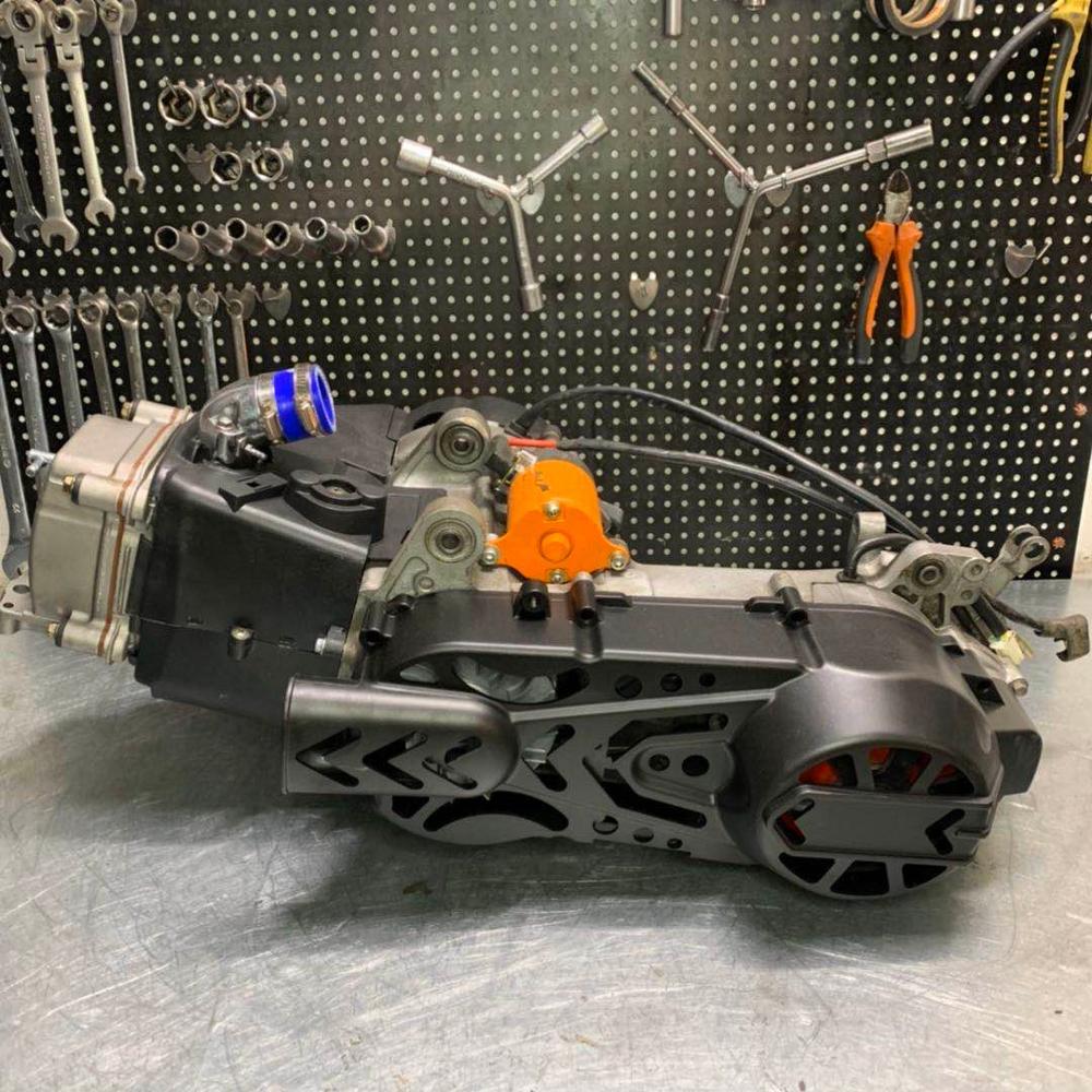 Motor 157QMB tunning 182 cc gran cilindro 157QMJ 152QMI LF150T LIBERTY cilindro 63mm + 4mm kit de carreras cigüeñal de alta velocidad 4 válvulas