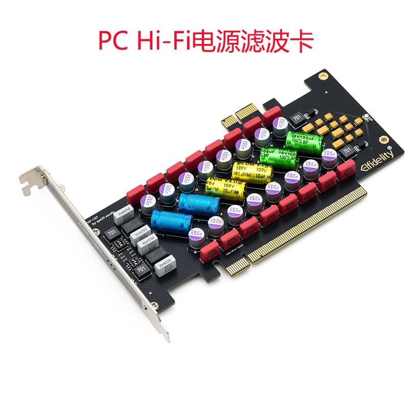 1 шт., плата фильтра питания elfaithpc hi-fi PCI/PCI-E Hi-Fi