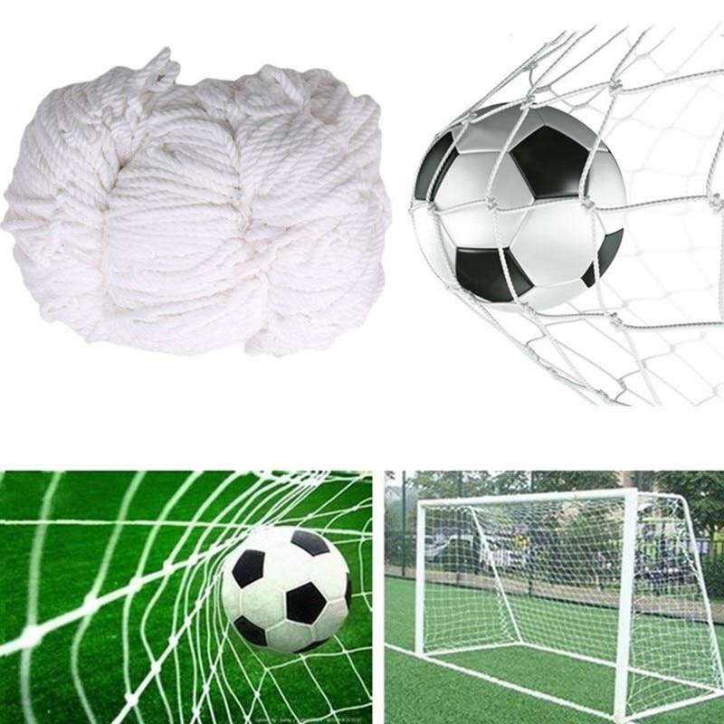 Outdoor Fußball Training Net Fußball Ziel Net Polypropylen Ausbildung Post Mesh für Fußball Tor Spiel Junior Sport Praxis