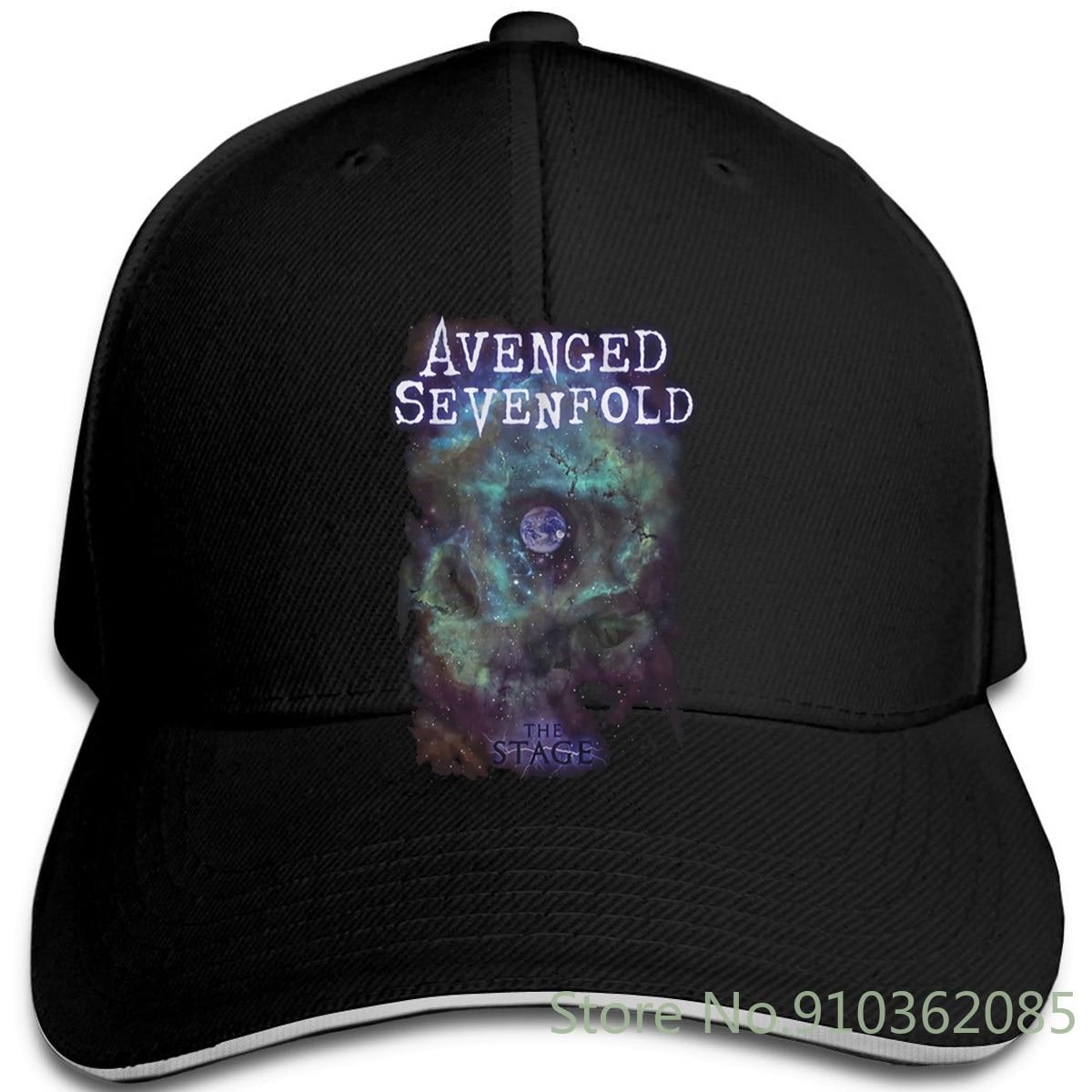 Avenged Sevenfold Space Face Rock Heavy Metal oficial Unisex ajustable gorras de béisbol hombres mujeres