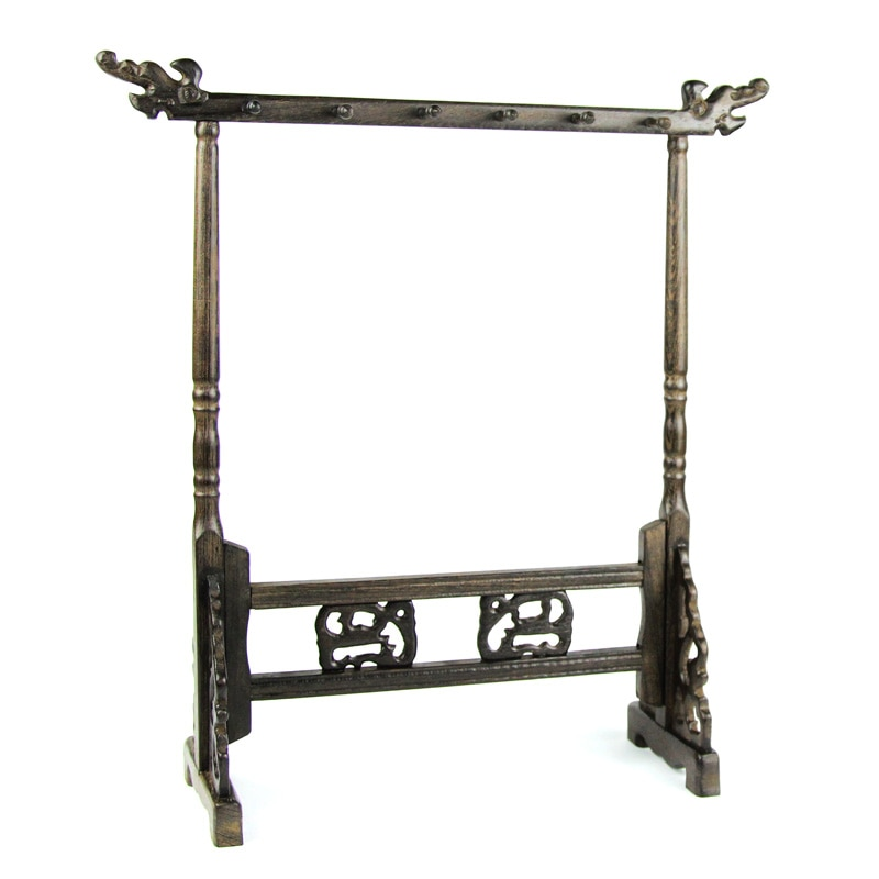 Brush Stand Writing Supplies Study Treasure Pen Rack Stationery Solid Wenge Wood Calligraphy Brush Rack Traditional Painting