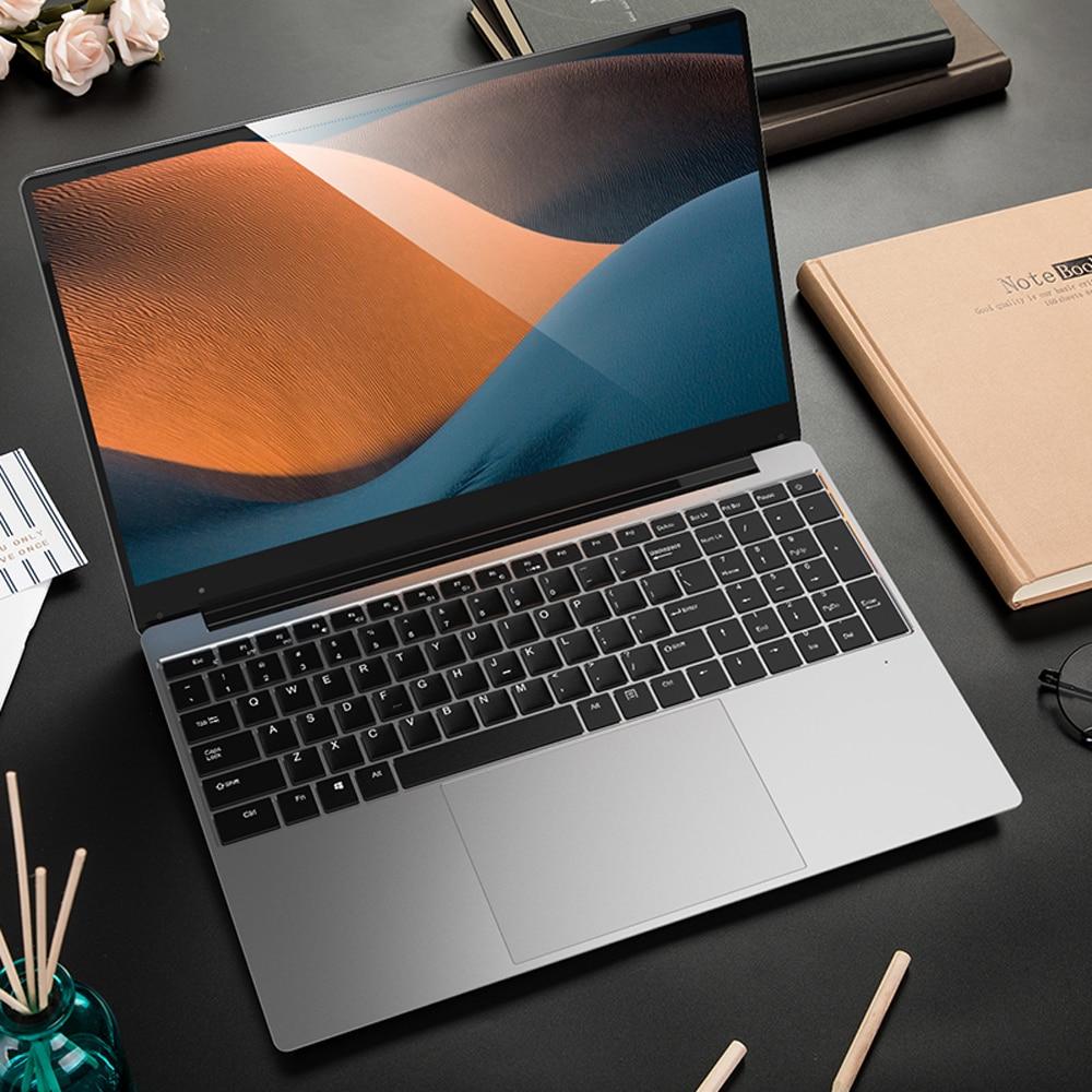 Review 15.6 inch Student Super Cheap Laptop DDR4 RAM 8GB RAM 128GB 256GB 512GB 1TB SSD Intel Celeron J4105 Windows 10 IPS Computer