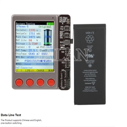 W28 pro lcd testador de bateria para ip para android para relógio para almofada sensor luz toque recuperar linha dados fone ouvido teste ferramenta