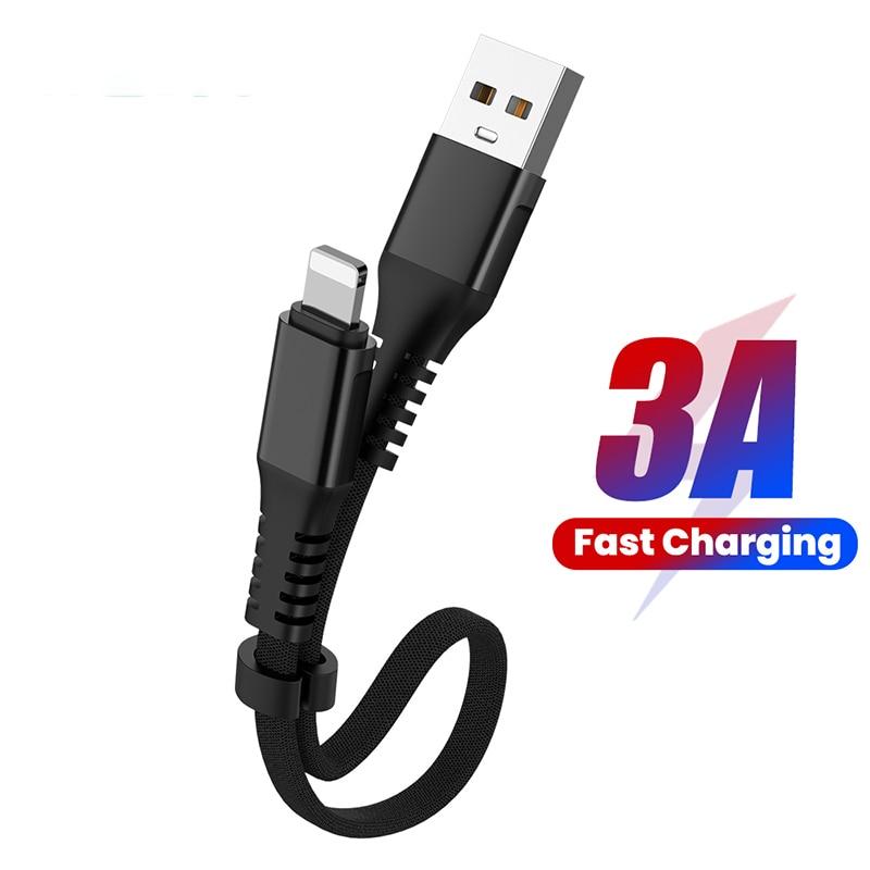 Cable de datos USB de carga rápida 3A, Micro USB plegable de...