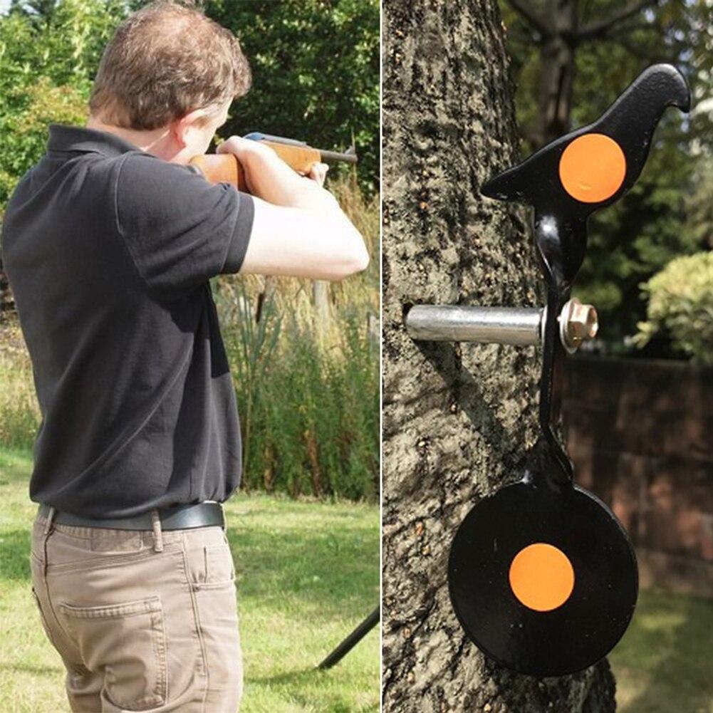 1 шт., мишень для стрельбы, мишень, мигание, тренировка, Пейнтбол из нержавеющей стали, принадлежности для охоты, мишень, мишень Bullseye