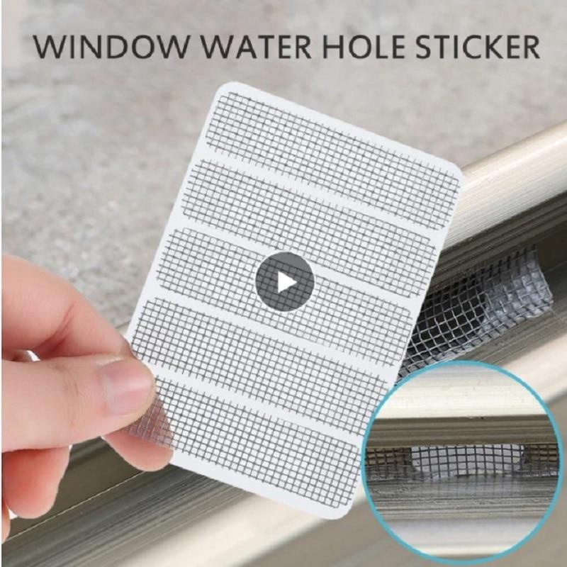 Pantalla magnética Para puerta, cortina antimosquitos, cinta de reparación de insectos, parche...