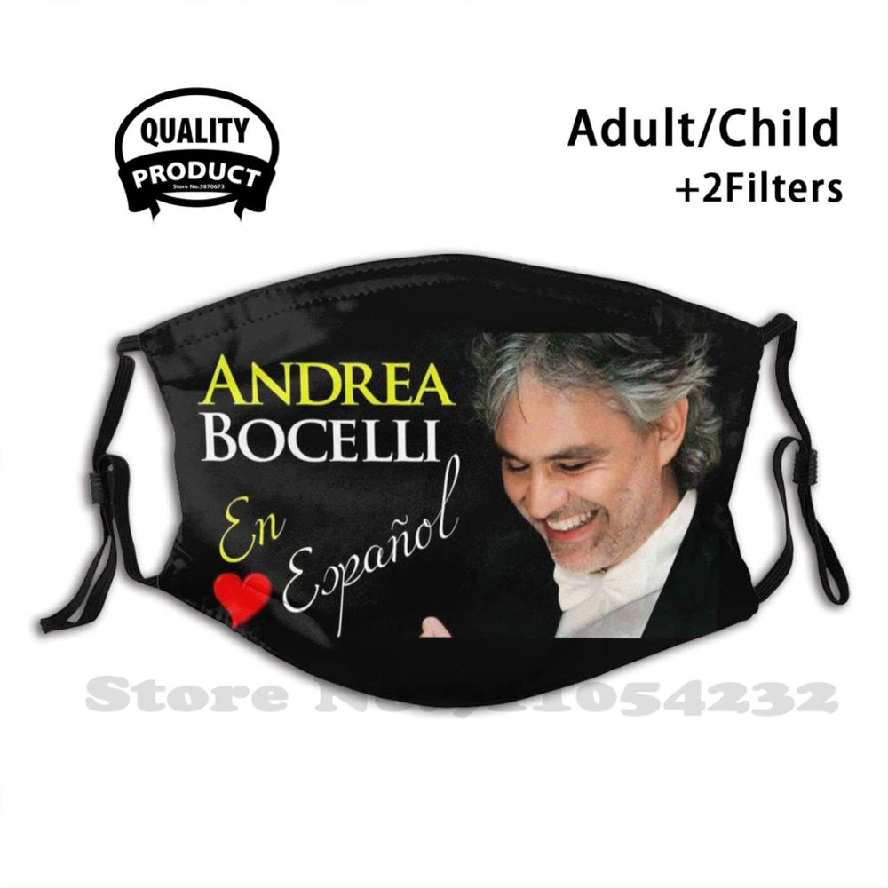 Andrea Bocelli Best Musician Is Amazing Face Mask With Filter Warm Mouth Mask Andrea Bocelli Best Musician Is Amazing97