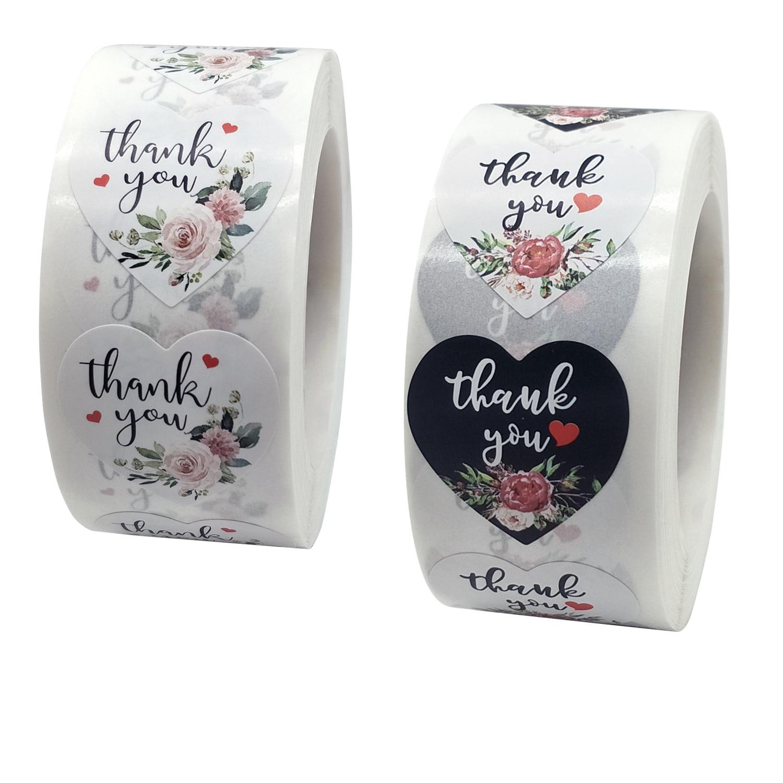 100-500-pz-grazie-adesivi-amore-forma-adesivi-fiori-botanici-per-la-festa-nuziale-regalo-sigillo-etichette-di-cancelleria