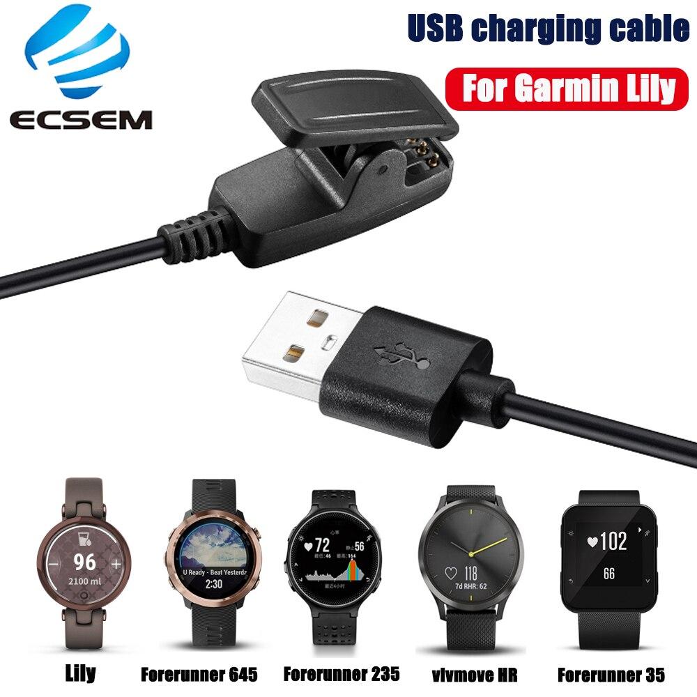 Cable de carga para reloj inteligente Garmin Lily Approach S20, cable de...