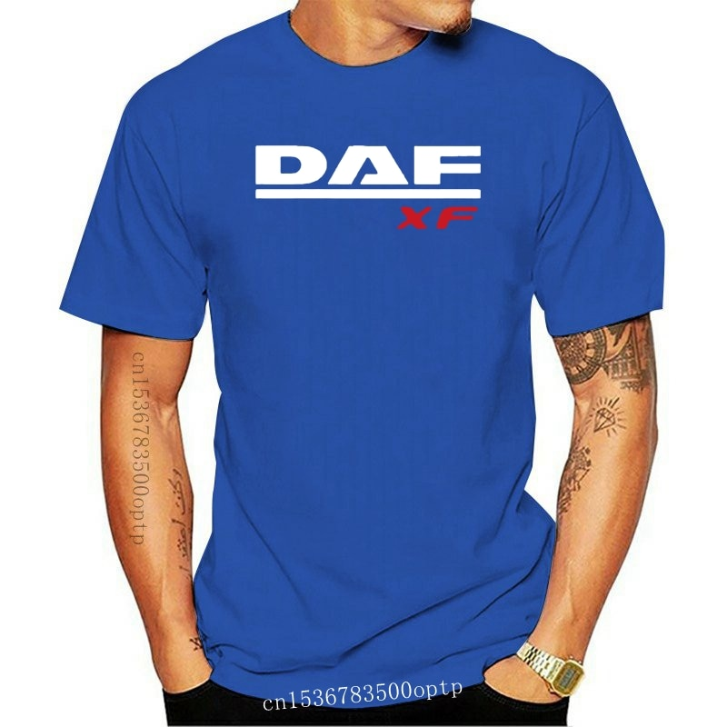 New Truck Daf T Shirt Xf Trucker Lorry Driver Hgv Harajuku Streetwear Shirt Men Lf 3Xl V8 Extreme All Color