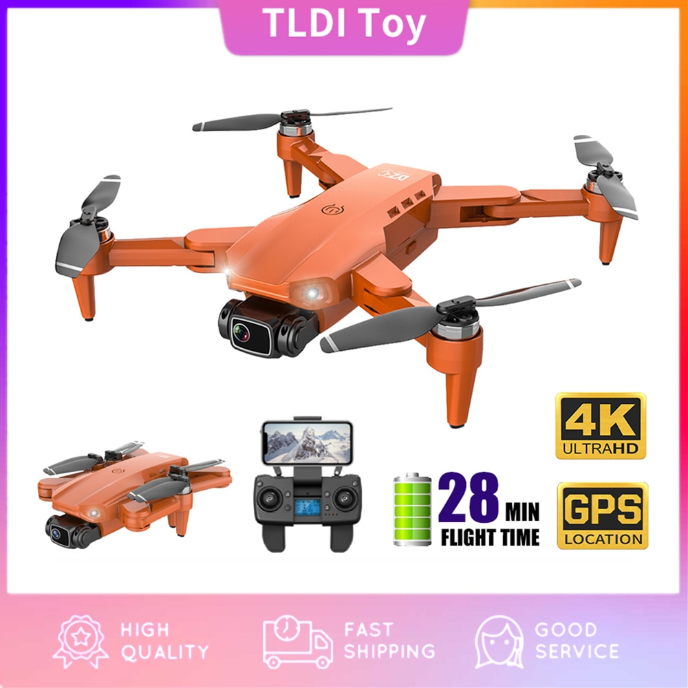 Professional Drones CONUSEA L900 GPS Drone 4K with Camera Anti-Shake Foldable Helicopter RC Quadcopter Drone Brushless Motor Toy