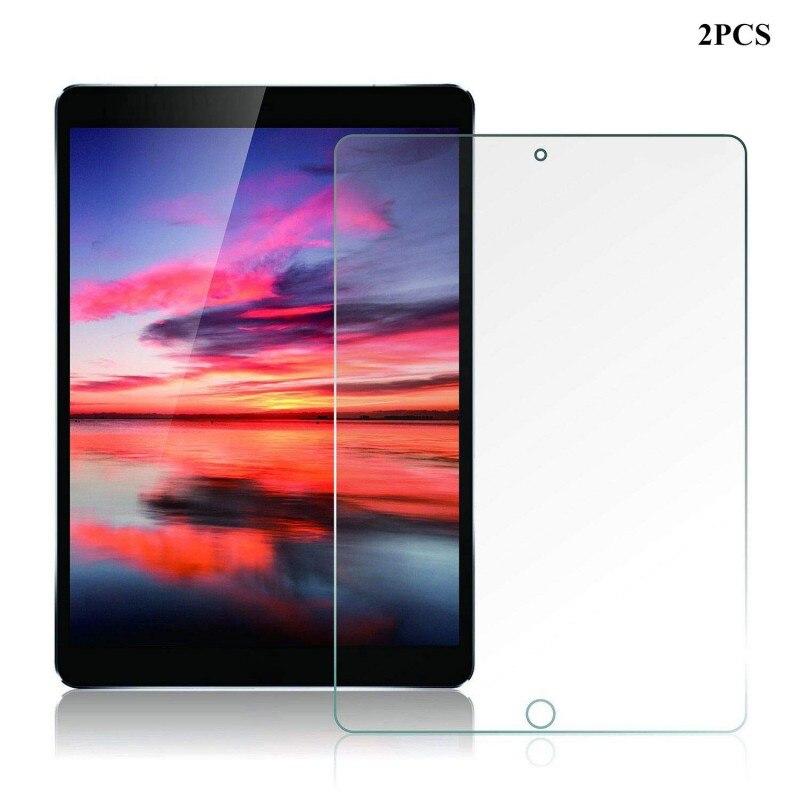 Protector de pantalla de alta definición de vidrio templado 2/5 Uds para iPad Air 3th/iPad Pro 10,5 pulgadas para accesorios de Apple duradero