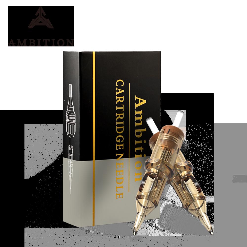 Ambition Revolution Tattoo Cartridge Mix Level A 0.35mm 0.30mm High Quality Tattoo Needles 1rl 3rl 5rl 7rl 9rl 11rl 14rl 7rm 9rm