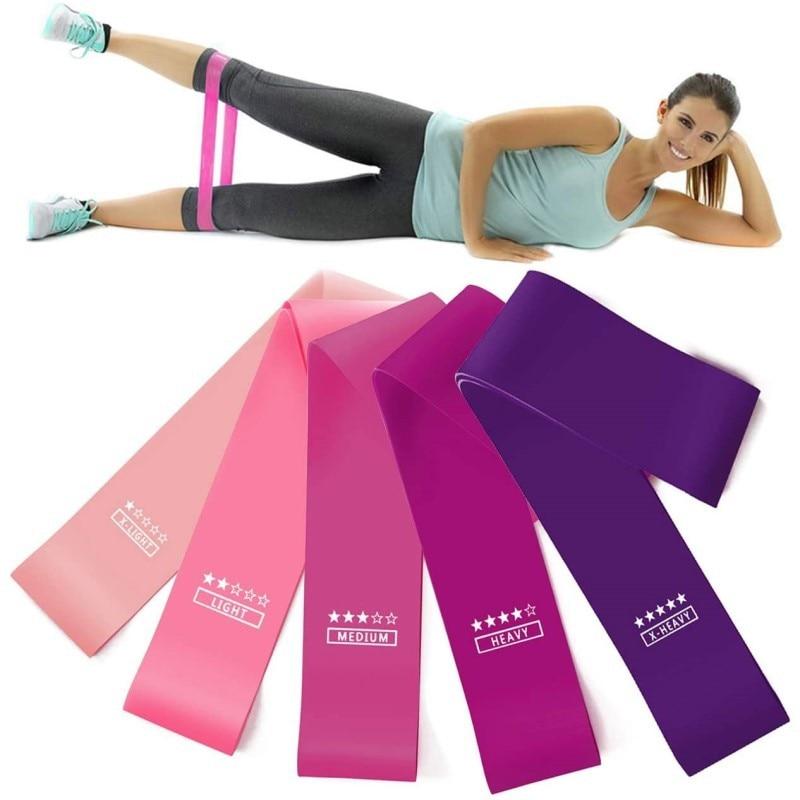 Elastische Bands Für Fitness Widerstand Bands Übung Gym Festigkeit Training Fitness Gum Pilates Sport Crossfit Workout Ausrüstung