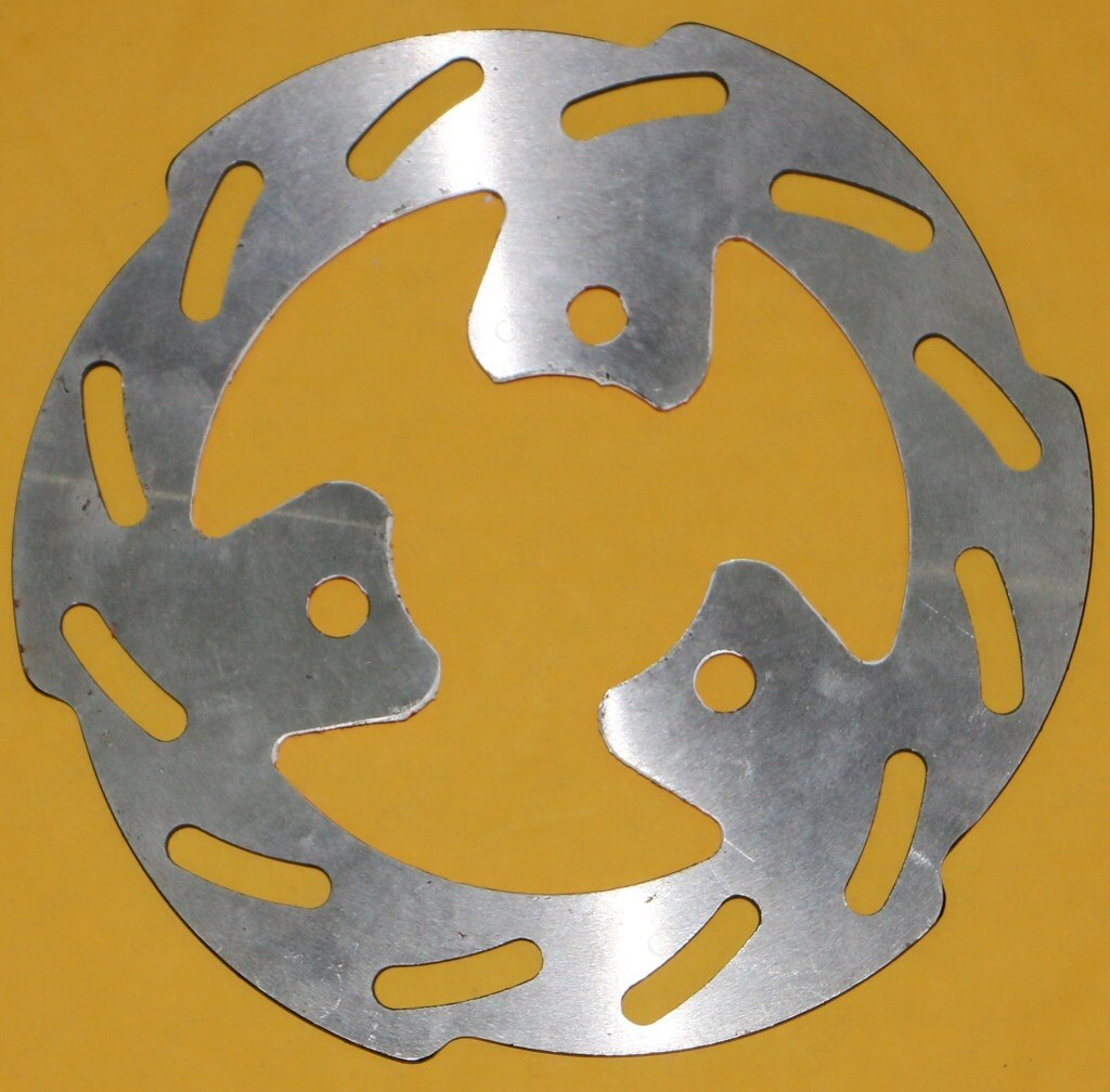 Front Disc Brake Rotor for KSR MOTO BY GENERIC Trigger 50 2002 02