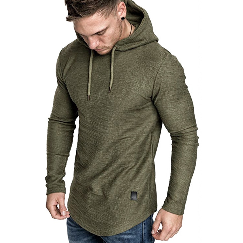 2021 New Men's Brand Solid Color Sweatshirt Fashion Men's Hoodie Spring And Autumn Winter Hip Hop Hoodie Male Long Sleeve M-3XL