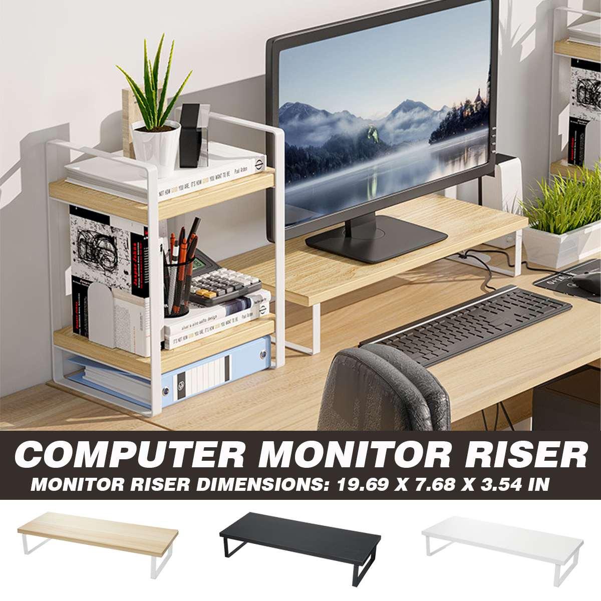 الكمبيوتر رصد الناهض الجدول حامل تلفاز مجموعة سطح المكتب المحمول المنظم رفوف المنزل مكتب Lapdesk رصد حامل شاشة الرف