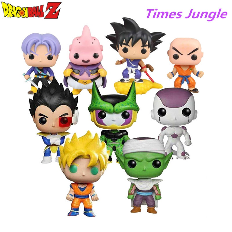 HOT Dragon Ball Toy Son Goku Action Figure Anime Super Vegeta Model Doll Pvc Collection Toys For Children Christmas Gifts недорого