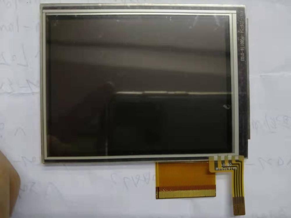 "Latumab Original para Sharp LQ035Q7DH02/LQ035Q7DH06 pantalla táctil LCD digitalizador GPS 3,5 ""240X320 envío gratis"