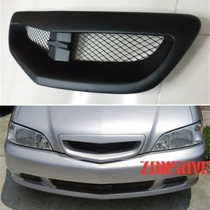 Use For Acura TL 3.2 1999--2001 Year Carbon Fibre Refitt Front Center Racing Grille Cover Accessorie Body Kit Zonsuve