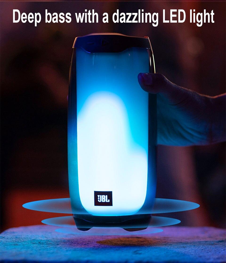 JBL NEW pulse 4 PK Boombox portable speaker Wireless bluetooth 4.2 Colorful small speaker + subwoofer Desktop speaker Hands-free enlarge