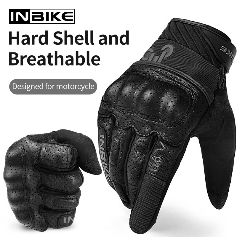 INBIKE Motorcycle Gloves Breathable Motocross Gear Touch Screen Outdoor Sport Cycling Racing Gloves Guantes Men Motorbike Gloves enlarge